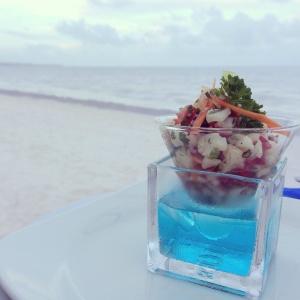 vegan cauliflower cocktail