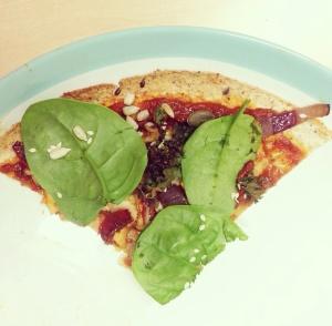 superfood pizza