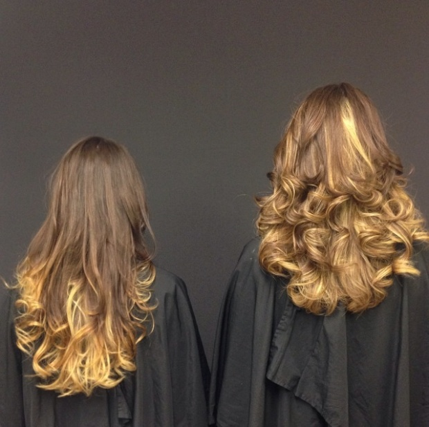 bizzaz hair paul mitchell ombre