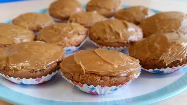 lotus spread cupcakes