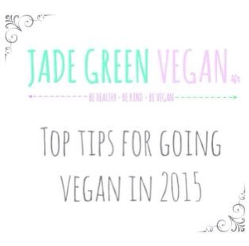 top tips for going vegan
