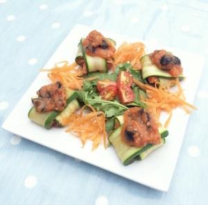 courgette ravioli recipe