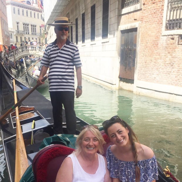 gondola ride in italy