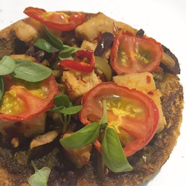 vegan quorn pizza
