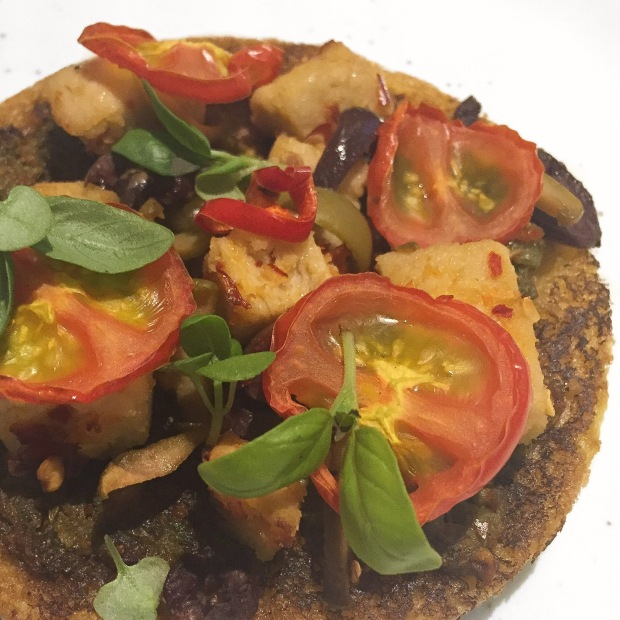 vegan quorn pizza