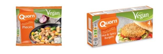 quorn vegan products