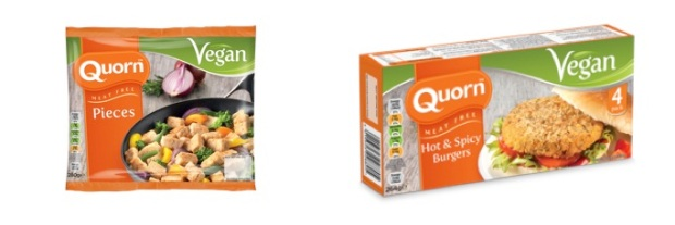 quorn vegan products