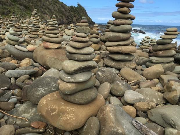 pebble tower