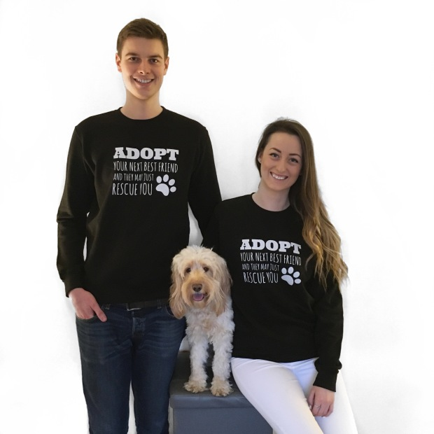 Adopt your next best friend jumper