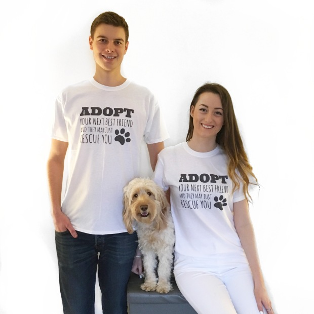 Adopt your next best friend unisex t-shirt