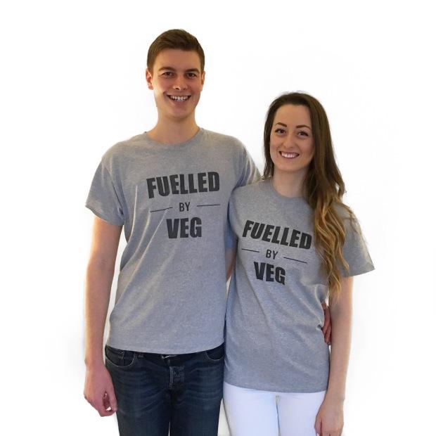 Fuelled By Veg t-shirt