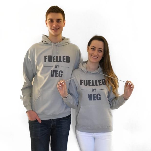Fuelled by veg hoodie