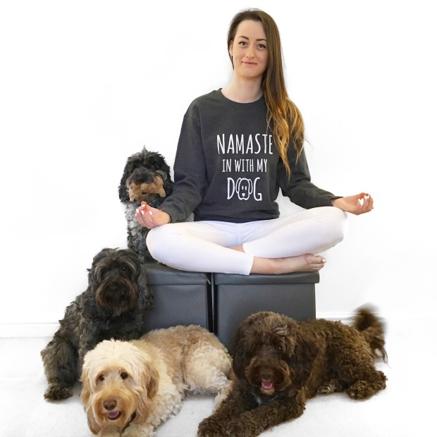 Namaste In With My Dog jumper