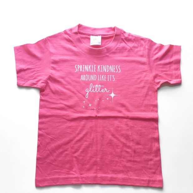 Sprinkle Kindness kids tee